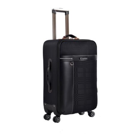 Oxford 24 Inch Travel Rolling Luggage Suitcase Business Travel Rolling baggage bags Spinner suitcase Wheeled trolley Suitcase vintage suitcase 20 26 pu leather travel suitcase scratch resistant rolling luggage bags suitcase with tsa lock