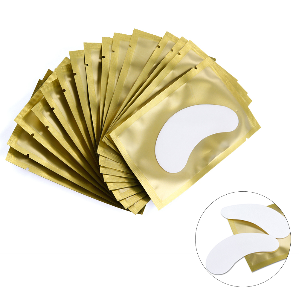 200 Pairs Makeup Eyelash Extension Paper Patch Lash Extension Pillow Sticker Under Eye Fake Eyelashes Patch For Lashes Extension in False Eyelashes from Beauty Health