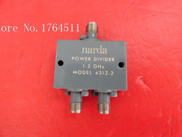 [BELLA] A two Narda power divider 4312-2 1-2GHz SMA[BELLA] A two Narda power divider 4312-2 1-2GHz SMA
