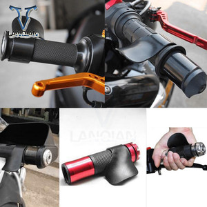 Image 5 - Motorcycle Throttle Clamp Cruise Aid Control Grips Handlebar for Suzuki 750 KATANA DL650 V STROM DR 650 S DR 650 SE SV650 S