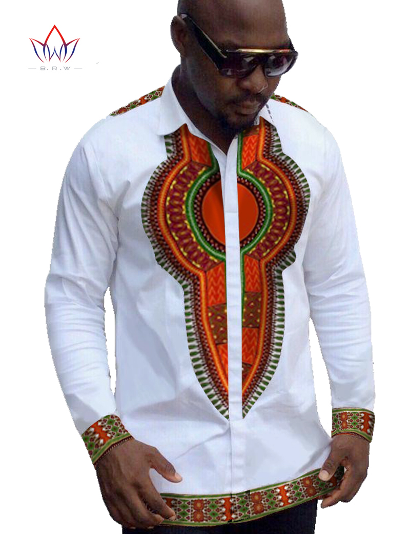 African clothes for men mens dress shirt dashiki men brand for White shirt outfit mens