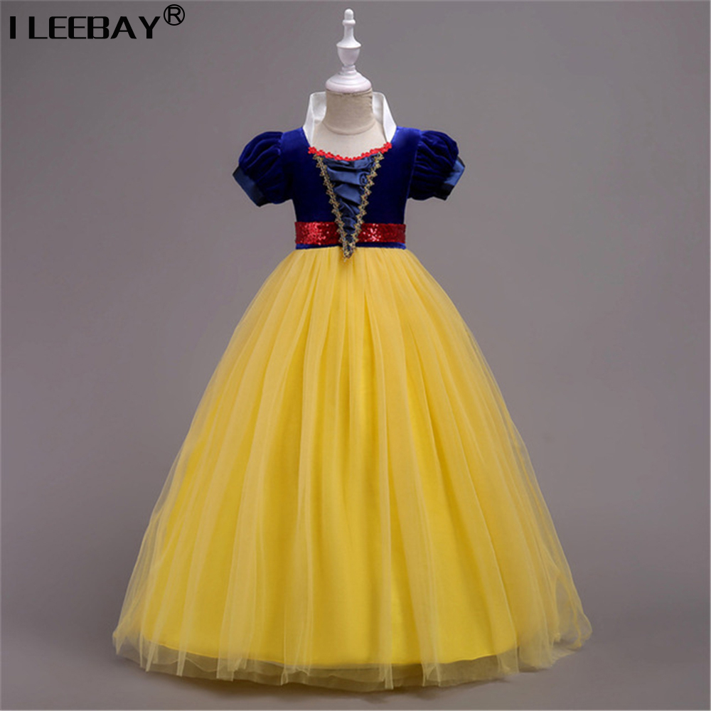 2018 New Design Snow White Big Girls Princess Tutu Dress Children Short Sleeve Long Costume Teenager Girl Party Cosplay Clothing2018 New Design Snow White Big Girls Princess Tutu Dress Children Short Sleeve Long Costume Teenager Girl Party Cosplay Clothing