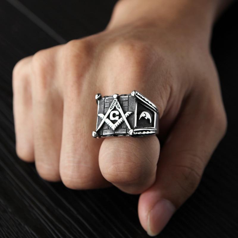Vintage Masonic Rings (2)