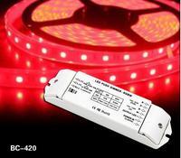 Bincolor ใหม่ LED RGBW controller!! Push dim พอร์ต DC12 24V LED RGBW controller WRGB LED controller-ใน ตัวควบคุม RGB จาก ไฟและระบบไฟ บน