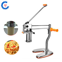 Manual noodle maker press pasta machine with 7 pressing moulds making noodles