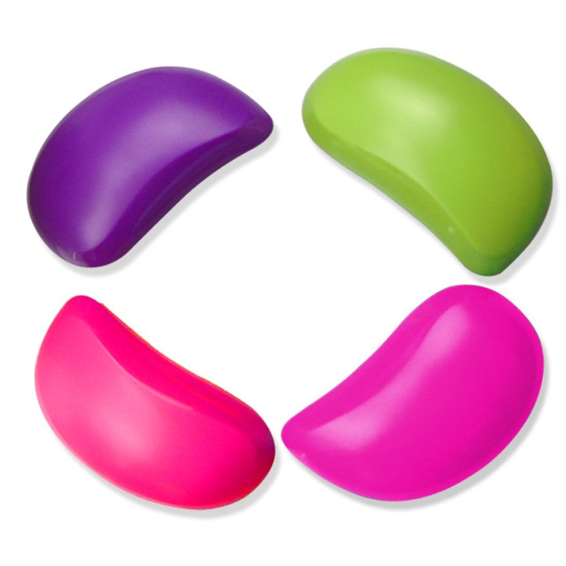 Portable Anti - static Hairdressing Comb Creative Mango - shaped  Magic Detangling Smooth No Knot Comb Salon Styling Tamer Tool