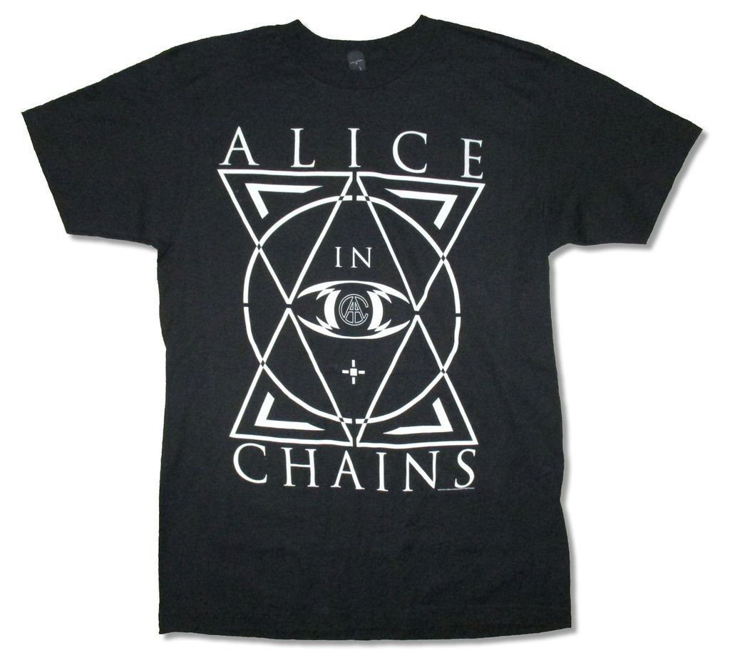 alice in chains triangle tour 2015 black t shirt new official adult in t shirts from men 39 s. Black Bedroom Furniture Sets. Home Design Ideas