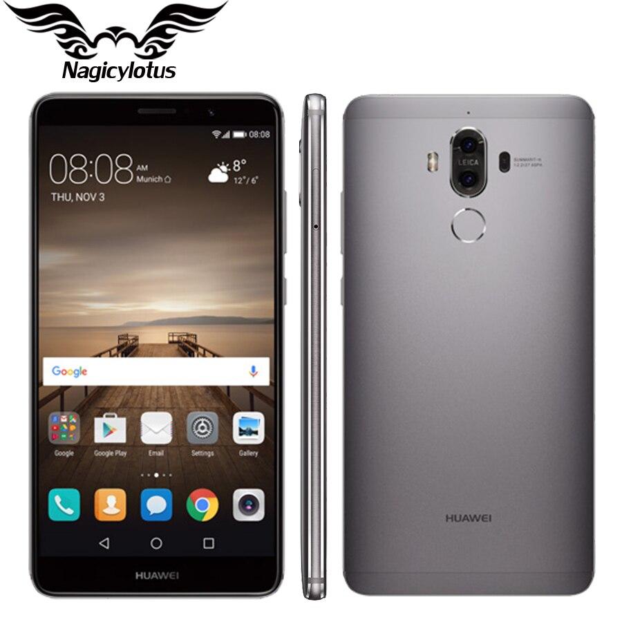 Original Huawei Mate 9 Mate9 4G LTE Octa Core 4GB RAM 32GB ROM 5 9 HD