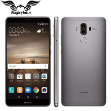 Original Huawei Mate 9 Mate9 4G LTE Octa Core 4GB RAM 32GB ROM 5.9″ HD Android 7.0 Fingerprint ID 20MP+12MP Camera Mobile Phone