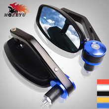 Handlebar grips Rearview Side Mirror Motorcycle Mirror For Yamaha MT09 MT07 MT 09 07 XJ6 XJR 1300 Racer fazer TDM 900 FZ-07 09 цена и фото