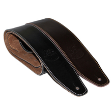 Genuine Leather Guitar Belt Strap Electric Bass Strap 145 cm Long 6 cm Wide Guitar Parts