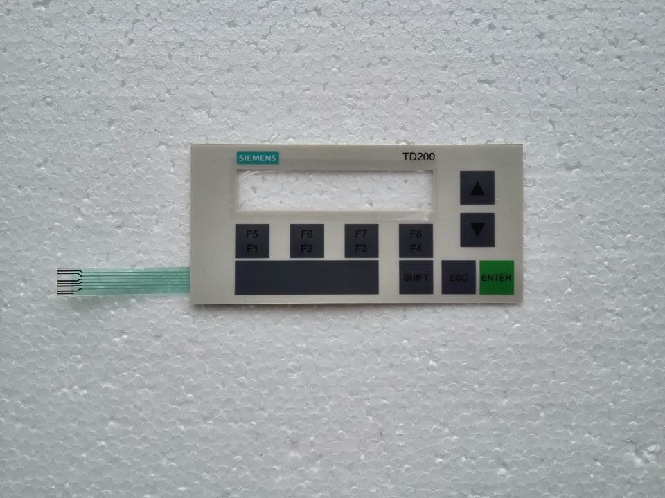 6ES7272 0AA30 0YA1 TD200 Membrane keypad for Display Panel repair do it yourself New Have in