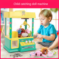 Child catching doll machine Small home game machine for the coin machine
