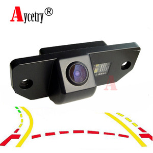 Aycetry! Dynamic Track CCD HD color car Rear View Camera for Ford Focus 2 Sedan C-Max C Max Mondeo Parking Reverse Backup Camera