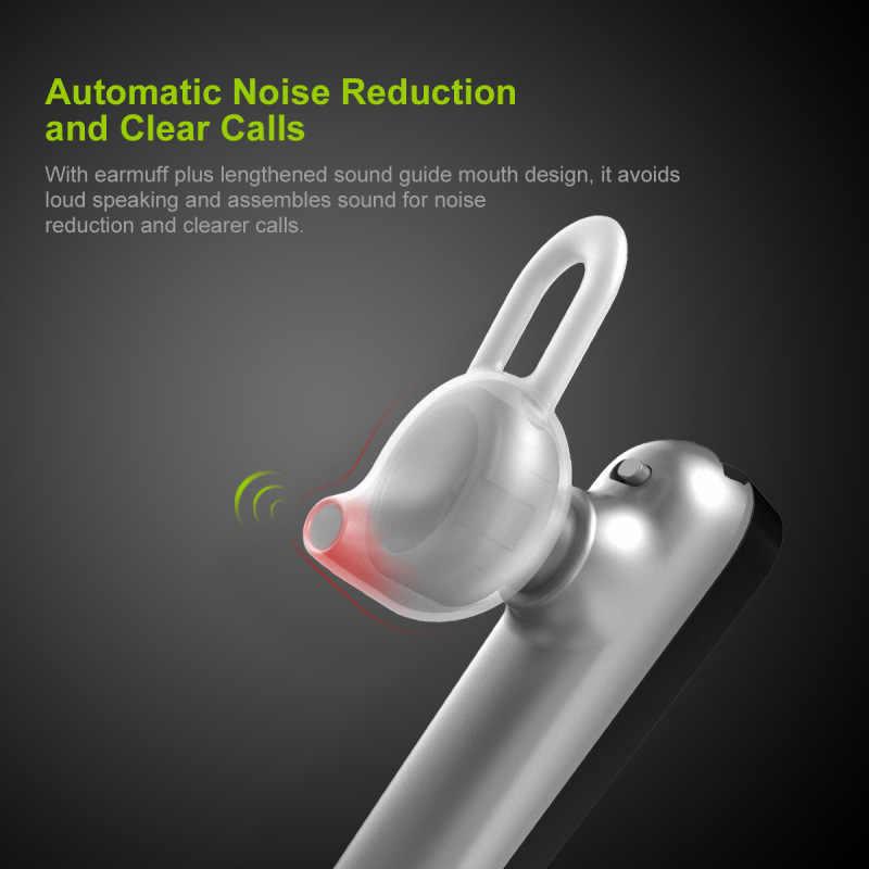 Baseus bezprzewodowy zestaw słuchawkowy Bluetooth Mini biznes PortableA01 słuchawki z mikrofonem dla xiaomi iPhone do jazdy Fone De Ouvido