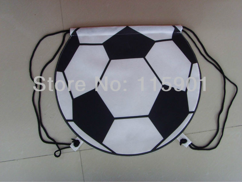 3D football shaped drawstring Bag-in Backpacks from Luggage & Bags ...