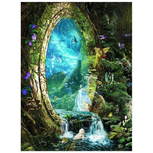 Beautiful fairy kingdom diamond Embroidery diy painting mosaic diamant 3d cross stitch picture H691