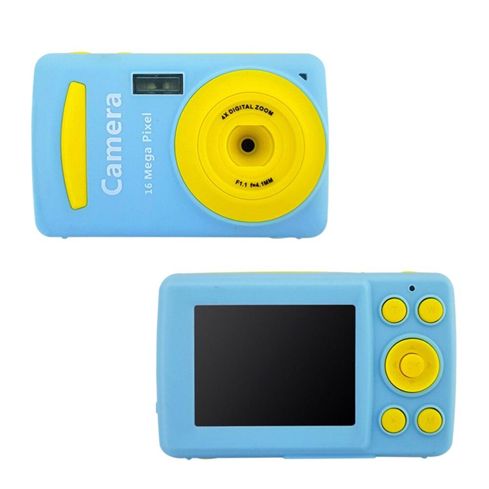 Digital Camera 2.4 Inch Screen Kids Anti-shake Mini Children Durable Face Detection Waterproof HD Recorder Anti-fall Cute Photo