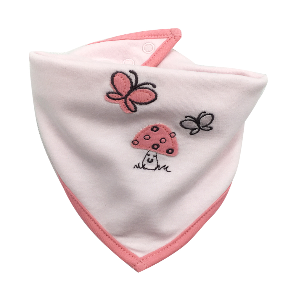 3 pcs 100 Cotton Newborn Baby Bibs Cute Feeding Bib Baby Nursing Bandana Burp Cloth For Girls And Boys Saliva Towel Baby bibs in Bibs Burp Cloths from Mother Kids