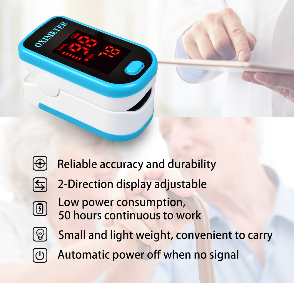 New Pulse Oximeter CE/ISO Approved®