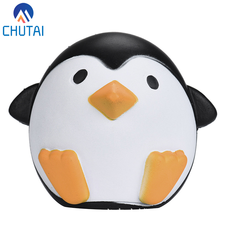Cute Penguins Slow Rising Scented Fun Cartoon Animal Toys Gift Children Adult Stress Relief Toy 10*12CM