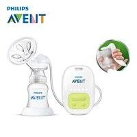 AVENT один ручной молокоотсос Электрический автоматический массаж Кормление BPA бесплатно удобство ребенка сосать молоко Squeeze насос