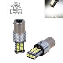 2Pcs 1156 led  15W 3014 Neutral White Light Car Reversing Lamp Maker (12~15V)
