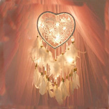 Hanging-Ornaments Wedding-Dream Nordic Colorful-Lights Creative Net Hollowed-Out
