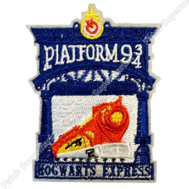 Harry Potter Collections Hogwarts Express Kings Cross Platform Patch