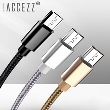 !ACCEZZ USB Charge Sync Data Cable For Samsung LG Huawei Redmi Charging Cables Android Phone Micro Usb Charger Cord Line 1M