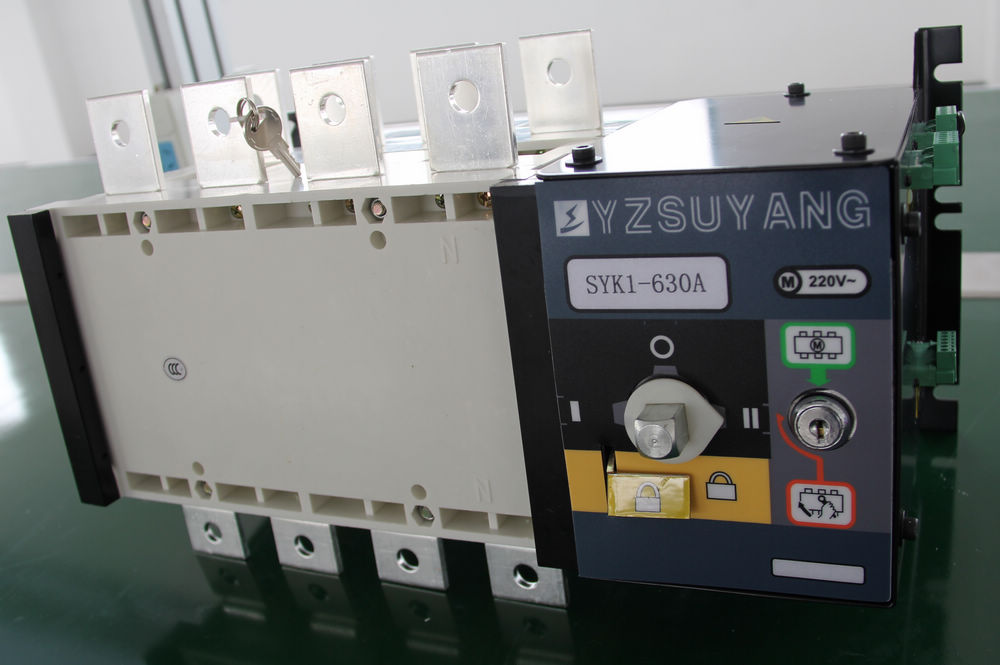 цена на Fast Shipping 630A SYK1-630A 4P Suyang ATS Work 440V Power 220V Dual power automatic transfer switch Automatic starting system