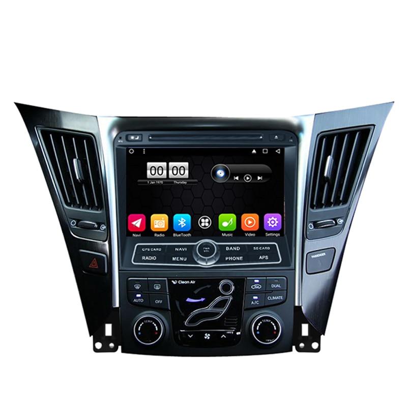 OTOJETA 6.0.1 autoradio 2 GB ram + 32 GB rom Android carro dvd player para hyundai sonata YF I45 I40 multimídia gps rádio fita gravador