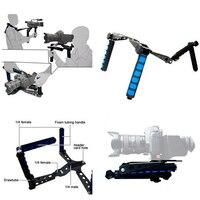 Premium DSLR Rig Movie Kit Shoulder Mount Holder Photo Studio Accessories for Canon Nikon DSLR Video Camcorder Camera DV