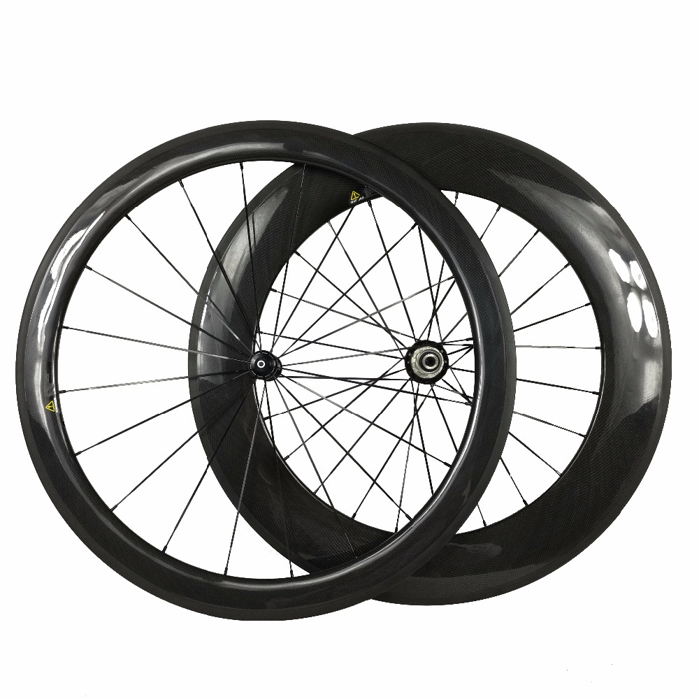 Clincher Carbon Wheels Mix Front 50mm Rear 88mm Bike