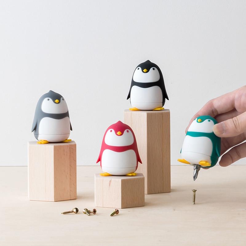 Cute Cartoon Penguin Small Screwdriver Mini Multi Combine