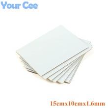5 stücke Kinsten PP 1510 1015 Positiv Wirkende Vorsensibilisierte PCB Board 15 cm x 10 cm x 1,6mm Einzel seite Platte Lichtempfindliche