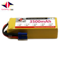 LYNYOUNG RC LiPo battery 6S 22.2V 3500mAh 40C Max 80C For RC Truck Helicopter Quadcopter Airplane Car