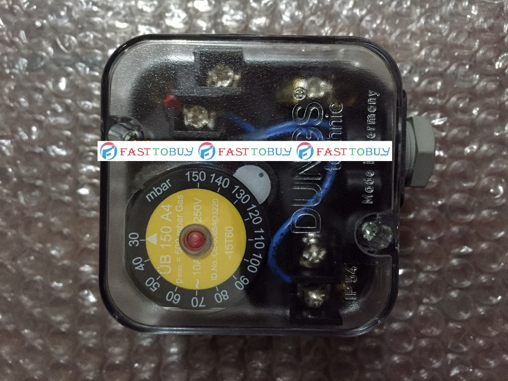 New Arrival Dungs Pressure limiter UB150A4 For Burner Original One new arrival dc24v 4 relay load limiter controller sensor for elevator lift