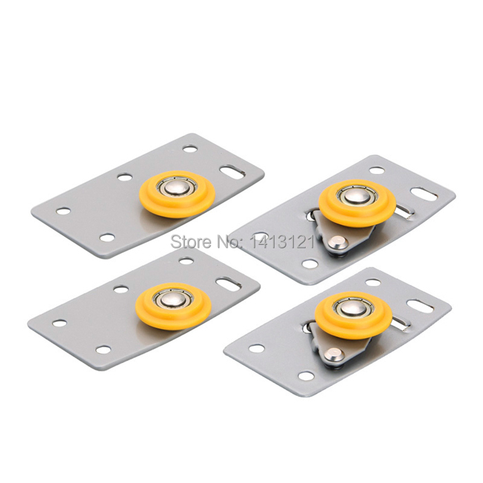 free shipping furniture caster Positioning pulley sheave nylon pulley closet drawer filing cabinets pulley sliding