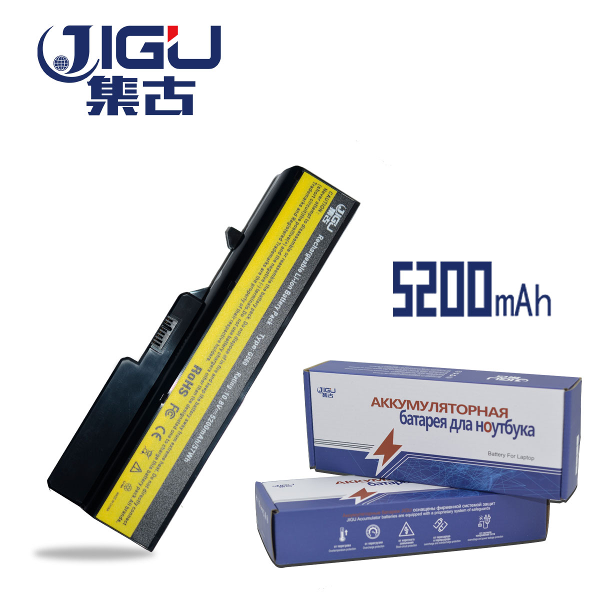 JIGU 6 Cell Laptop Battery 57Y6454 57Y6455 L09C6Y02 L09M6Y02 L09S6Y02 L10C6Y02 For Lenovo IdeaPad G460 G560 V360 V370 V470 Z460 laptop battery for lenovo ideapad g460 g465 g470 g475 g560 g565 g570 g575 g770 z460 v360 v370 v470 l09m6y02 l10m6f21 l09s6y02
