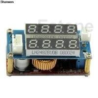 5A Adjustable Power CC CV Step Down Charge Module LED Driver Voltmeter Ammeter