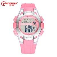 Children Watches Multifunctional Luminous Waterproof Electronic Watch Outdoor Sports Girl Clock Digital LED Wristwatches Reloj