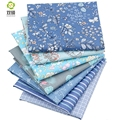 Shuanshuo Half Meter Flower Series Twill Cotton Fabric Patchwork Cloth Of Handmade DIY Quilting Sewing Textile Material 160*50CM
