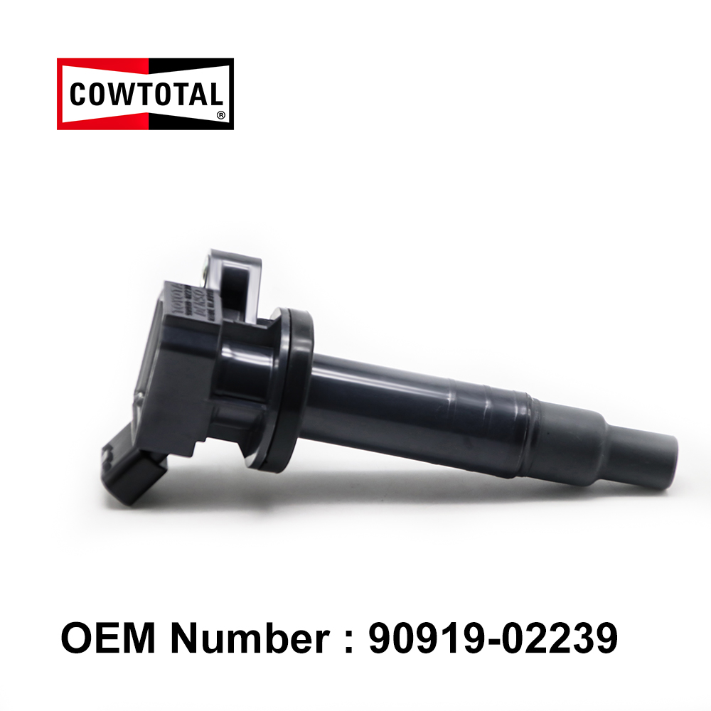 COWTOTAL Ignition Coil 9091902239 for Toyota Corolla Chevrolet Pontiac 90919 02262 90080 19015 90080 19019 UF247