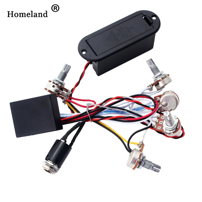 guitar pickup preamp circuit accessories 2 band active bass guitar eq equalizer preamp circuit. Black Bedroom Furniture Sets. Home Design Ideas