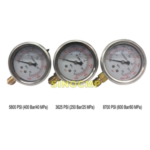 Image 5 - Pressure Gauge Diagnostic  Hydraulic Pressure Test Kit for Most Brand Excavator , 2 year warranty