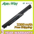 Apexway 4 celdas de batería portátil para asus a31-k56 a32-k56 a41-k56 a42-k56 k56c k56ca k56cb k56cm k56v a56c a56cm a56v series