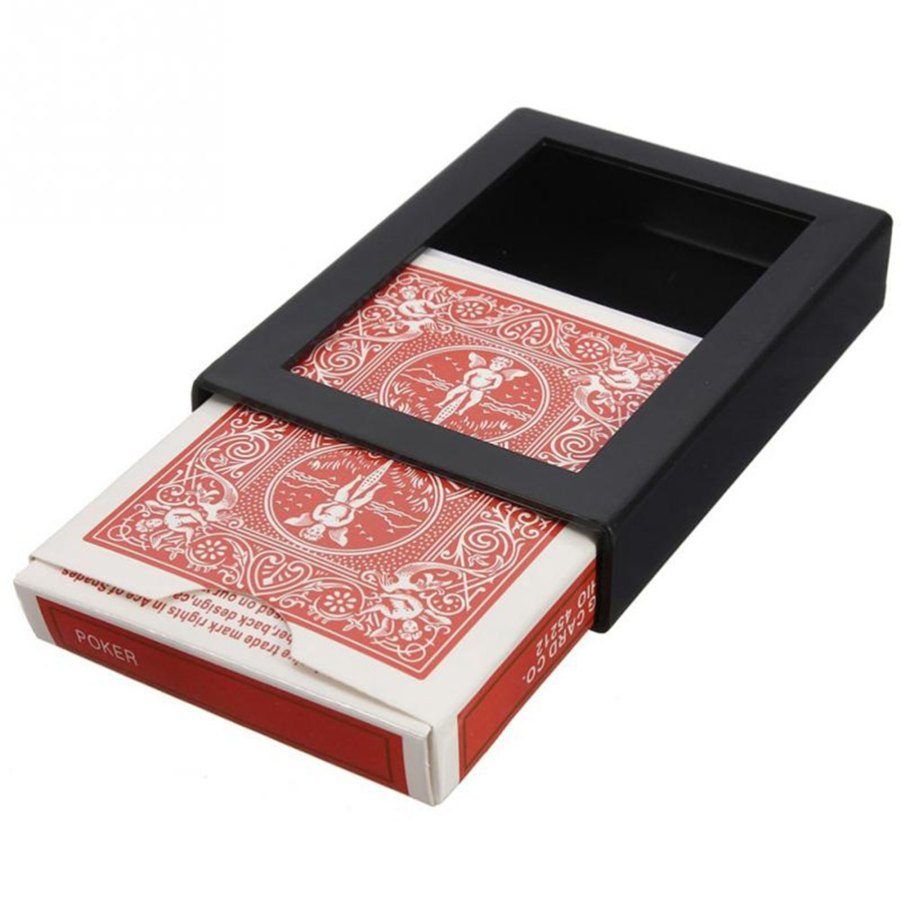 GJCUTE Deck Card Close Up Magic Trick Box Fun Poker