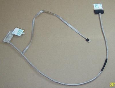 Wzsm novo cabo lcd portátil para toshiba l670 l670d l675 l675d lcd cabo de vídeo flex p/n dc020011h10