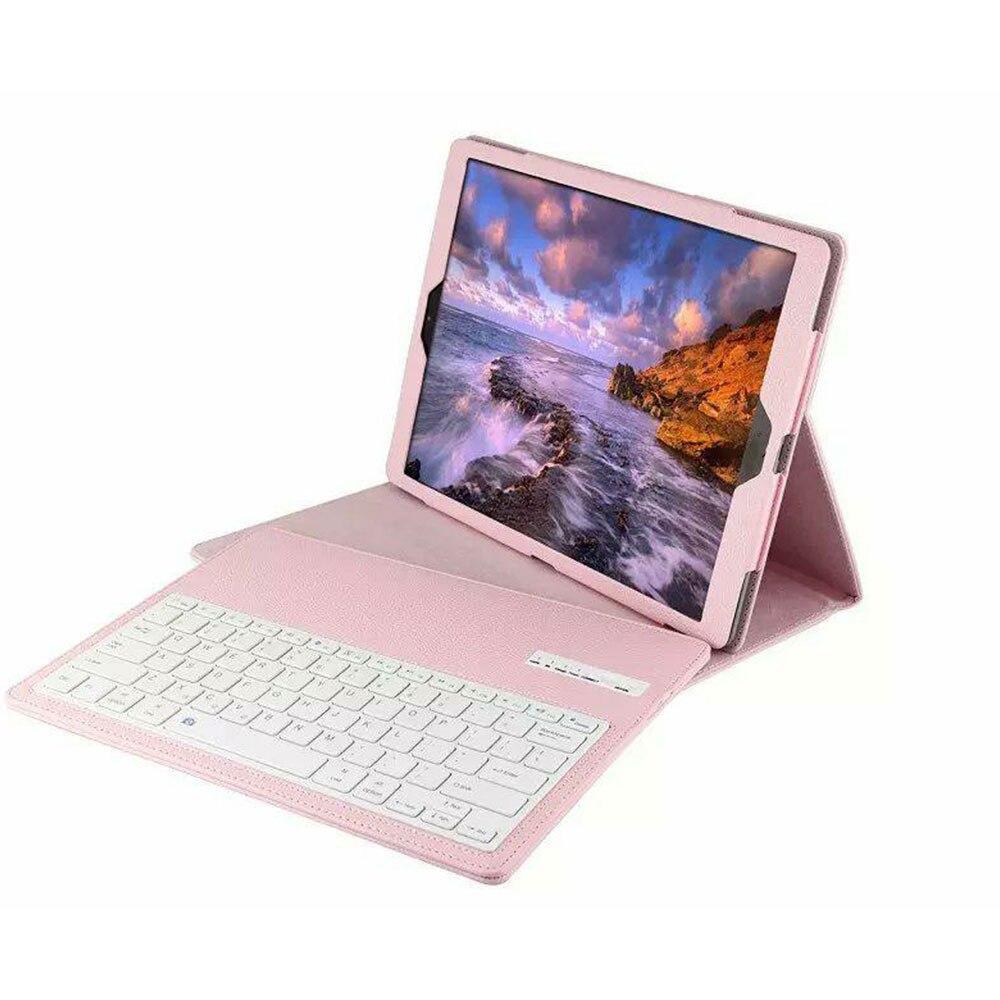 BT3.0 беспроводная клавиатура-Чехол клавиатура Bluetooth крышки дело IOS ультра тонкий для IPad 12,9 дюйма Беспроводной